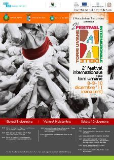 Festival Internazionale delle Torri Umane - 2011 - Matera