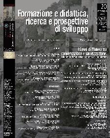 Formazione e didattica, ricerca e prospettive di sviluppo - 20 maggio 2011 - Matera