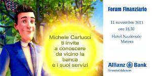 FORUM FINANZIARIO - 11 novembre 2011 - Matera