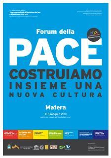 Forum Nazionale della Pace  - Matera