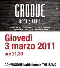 Groove 3 marzo 2011 - Matera