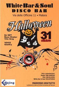 HALLOWEEN - 31 ottobre 2011 - Matera