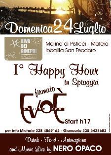Happy hour in spiaggia - 24 luglio 2011 - Matera