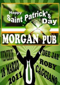 Happy St. Patrick's Day - Morgan Pub - Matera