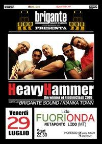 Heavy Hammer - the winner of RiddimClash 2010  - Matera