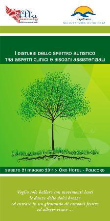 I disturbi dello spettro autistico tra bisogni clinici e aspetti sociali - 21 maggio 2011 - Matera