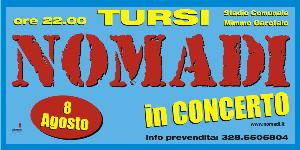 I Nomadi in concerto a Tursi - 8 agosto 2011 - Matera