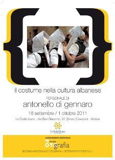 Il costume nella cultura albanese  - Matera