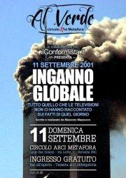 INGANNO GLOBALE - 11 settembre 2011 - Matera