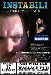 """INSTABILI Tribute band di """"NEK""""  - Matera"""