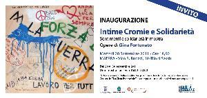 Intime Cromie e Solidarietà - dal 20 al 30 settembre 2011 - Matera