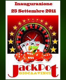 JackPot - inaugurazione - 25 settembre 2011 - Matera