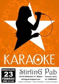 Karaoke - Stirling Pub - Matera