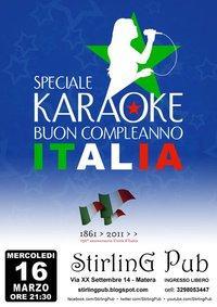 Karaoke - Stirling Pub - Matera