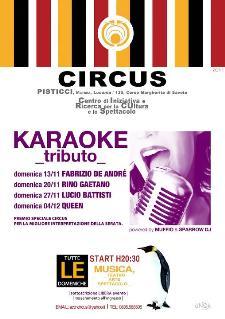 KARAOKE Tributo - Act in Circus - Matera