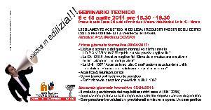 L'ISOLAMENTO ACUSTICO IN EDILIZIA: I REQUISITI PASSIVI DEGLI EDIFICI DALLA PREVISIONE ALLA VERIFICA IN OPERA - 8 e 15 aprile 2011 - Matera
