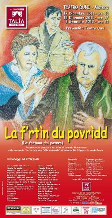 La frtin du povridd (la fortuna del povero) - Matera