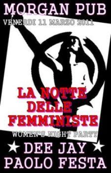 La notte delle femministe - Matera