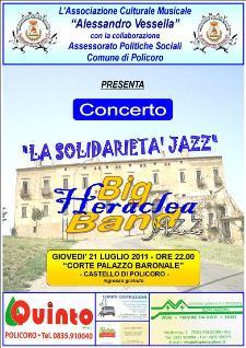 La solidarietà Jazz - 21 luglio 2011 - Matera