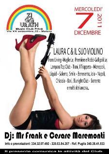 Laura Calcagno & il suo violino - 7 dicembre 2011 - Matera