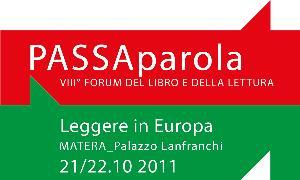 Leggere in Europa - 21 e 22 ottobre 2011 - Matera