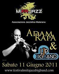 LJP Big Band & ADAM RAPA - MifaJazz - Matera