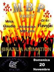 M B P party - 20 novembre 2011 - Matera
