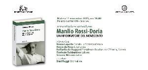 Manlio Rossi-Doria: un riformatore del Novecento  - Matera