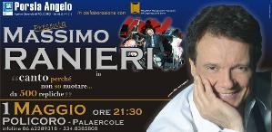 Massimo Ranieri a Policoro - 1 maggio 2011 - Matera
