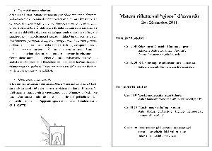 """Matera riflette sul """"gioco"""" d'azzardo - 25 e 26 ottobre 2011 - Matera"""