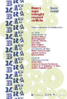 Matera segni immagini relazioni verifiche - 22 dicembre 2011 - Matera