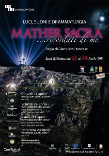 Mather Sacra - dal l 24 aprile 2011 - Matera