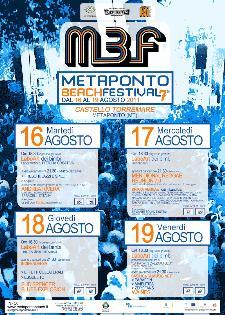 Metaponto Beach Festival 2011  - Matera