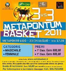 METAPONTUM BASKET 2011  - Matera