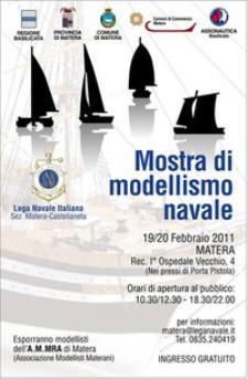 Mostra di modellismo navale - Matera