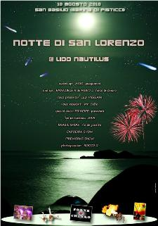 NOTTE DI SAN LORENZO - Lido Nautilus - Matera