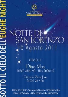 Notte di San Lorenzo - Lido Punta dell'Eughe - Matera