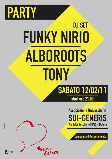 Party Sui Generis - Matera