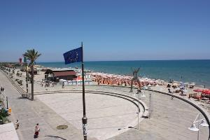 Piazza Lido a Metaponto - Bernalda - Matera