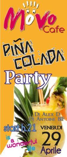 Pina colada Party - 29 aprile 2011 - Matera
