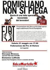 Pomigliano non si piega - 21 maggio 2011 - Matera