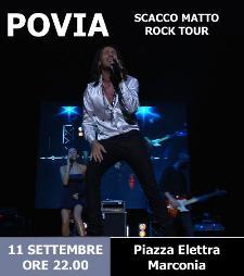 Povia in concerto a Marconia - 11 settembre 2011 - Matera
