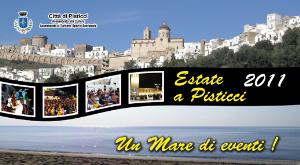 Programma eventi estivi 2011 a Pisticci e Marconia  - Matera