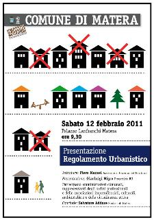 Regolamento Urbanistico - Matera