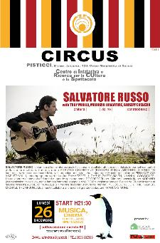 SALVATORE RUSSO - the gipsy jazz quartet - 26 dicembre 2011 - Matera