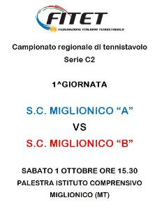 """S.C. Miglionico """"A"""" Vs S.C. Miglionico """"B"""" - 2 ottobre 2011 - Matera"""