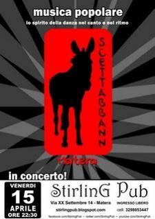 Scettabbann live - 15 aprile 2011 - Matera
