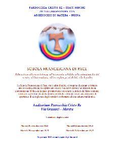Scuola francescana di pace  - Matera