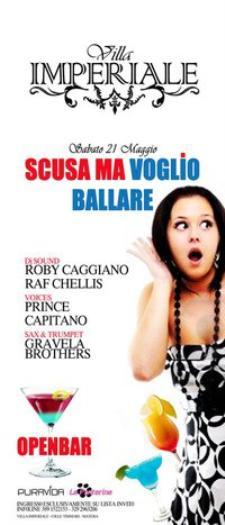 SCUSA MA VOGLIO BALLARE  - Matera