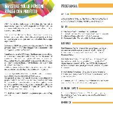 """Seminario """"Lo sviluppo della persona per la crescita e l´innovazione delle organizzazioni"""" - 18 marzo 2011"""
